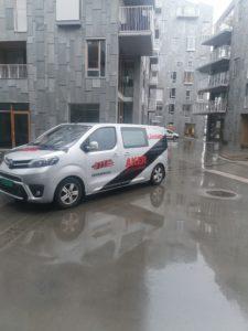 Ett av våre nyeste prosjekter Vannkunsten i Bjørvika