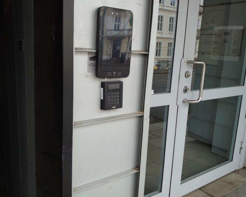 Parkveien 55, Defigo porttelefon